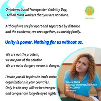 Global: Equitable Access to Rights and Freedom from Violence for Transgender Domestic Workers