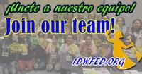 Global: IDWF is hiring - Regional Coordinator, Latin America (CLOSED)