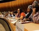 Global: Myrtle Witbooi, IDWF President, speaks at the ILC 2014 on May 29