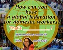 Global: Myrtle Witbooi shares at the 2014 LabourStart Conference plenary