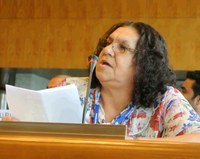 Global: Myrtle Witbooi speaks at the Standards Committee, ILC 2014