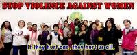 Global: Stop Violence Against Women, Stop Violence Against Domestic Workers!