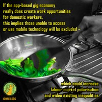 """Global: What the """"Uber-isation"""" of domestic work means for women"""