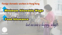 Hong Kong: Foreign domestic workers' wages go up, but no one's happy