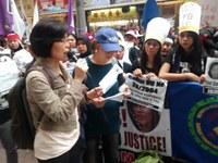 Hong Kong: over 50 local Hong Kong groups support Justice for Elis
