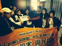 Hong Kong: Petition to India Gov Hold Khobragade Responsible