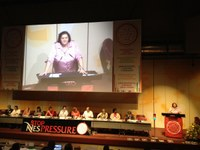 Switzerland: IDWN Delegation at the IUF Women Conference and the 26th Congress