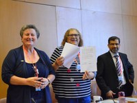 ILC108: GFBTU and IDWF Signed MOU on Protection of Domestic Workers' Rights in Bahrain