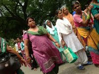 India: Efforts of domestic workers striking for their rights
