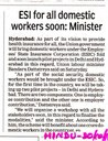 India: ESI for all domestic workers soon