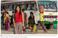 Nepal: Nepalese women trafficked to Syria and forced to work as domestic workers