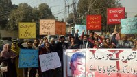 Pakistan: Domestic workers asking for justice for a abused child domestic worker