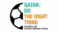 Qatar: No World Cup without workers' rights - Help us fill all 21282 seats
