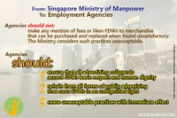 Singapore agencies warned vs. advertising domestic workers as commodities
