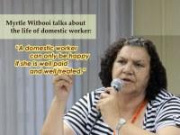 South Africa: Aubrey radio talk with Myrtle Witbooi, General Secretary of SADSAWU