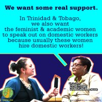 Trinidad and Tobago: Domestic workers want some real support