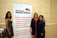 UK: Domestic workers in London celebrated the launch of their own charity