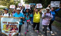 USA:  100 Women Will Keep Walking Until the Pope's Call Is Answered