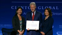 USA: Bill Clinton signing NDWA Fair Care Pledge