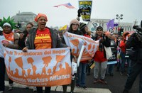 USA: Domestic workers at the Women's March