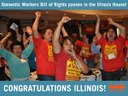 USA: Illinois House passes Domestic Workers Bill of Rights