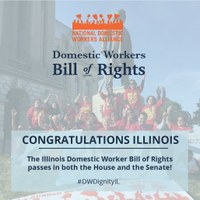 USA: The Illinois Domestic Workers Bill of Rights passed out of the Senate with bi-partisan support
