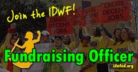 Global: IDWF is hiring - Fundraising Officer (CLOSED)