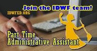 Hong Kong: IDWF is hiring - Part Time Administrative Assistant (CLOSED)