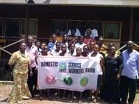 Ghana: DSWU celebración del 16 de junio y la firma de la promesa Mi Justo Hogar