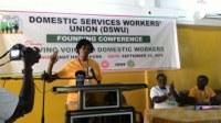 Ghana: Sindicato de Trabajadores del Servicio Doméstico (DSWU) Conferencia de Fundación