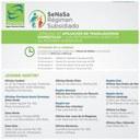 Jornadas de Afiliación al Régimen Subsidiado SeNaSa
