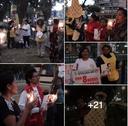 Vigilia en conmemoración del Convenio 189 en Perú