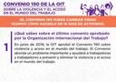 1. ¿Qué sabes sobre el último convenio aprobado por la Organización Internacional del Trabajo?