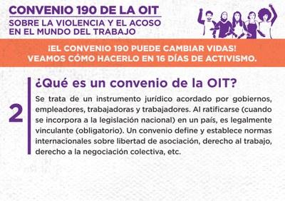 2. ¿Qué es un convenio de la OIT?