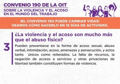 3. ¿La violencia y el acoso son mucho más que el abuso físico?