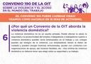 6. ¿Por qué un Convenio de la OIT aborda la violencia doméstica?