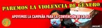Paremos la violencia de género, apoyemos la campaña para la Convención de la OIT