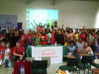 La Federação Nacional das Trabalhadoras Domésticas (FENATRAD) lleva a cabo este fin de semana (16-17 dic.) su Asamblea General en Brasilia, Brasil