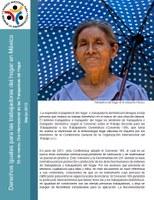 Derechos iguales para las trabajadoras del hogar en México