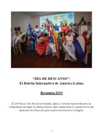 """""""Día de Descanso"""": El Boletín Informativo de América Latina – Resumen 2019"""
