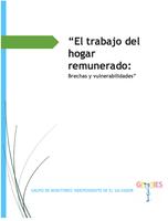 """El trabajo del hogar remunerado: Brechas y vulnerabilidades"""""""
