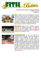 FITH e-Boletín #8 - OCTUBRE 2015