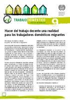 Hacer del trabajo decente una realidad para los trabajadores domésticos migrantes