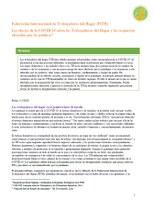 Informe de la FITH para el desarrollo de políticas y líneas de acción: Los efectos de la COVID-19 sobre las Trabajadoras del Hogar y las respuestas ofrecidas por las políticas