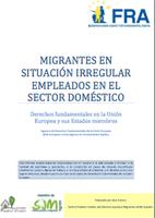 Migrantes en situación irregular empleados en el sector doméstico