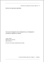 Promover la integración de las trabajadoras y trabajadores domésticos migrantes en España