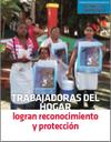 Trabajadoras del hogar logran reconocimiento y protección