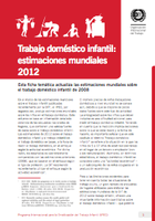 Trabajo doméstico infantil: estimaciones mundiales 2012