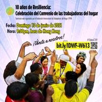 10 años de Resiliencia: Celebración del Convenio de las trabajadoras del hogar