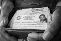 Ensayo fotográfico de una trabajadora del hogar colombiana en España
